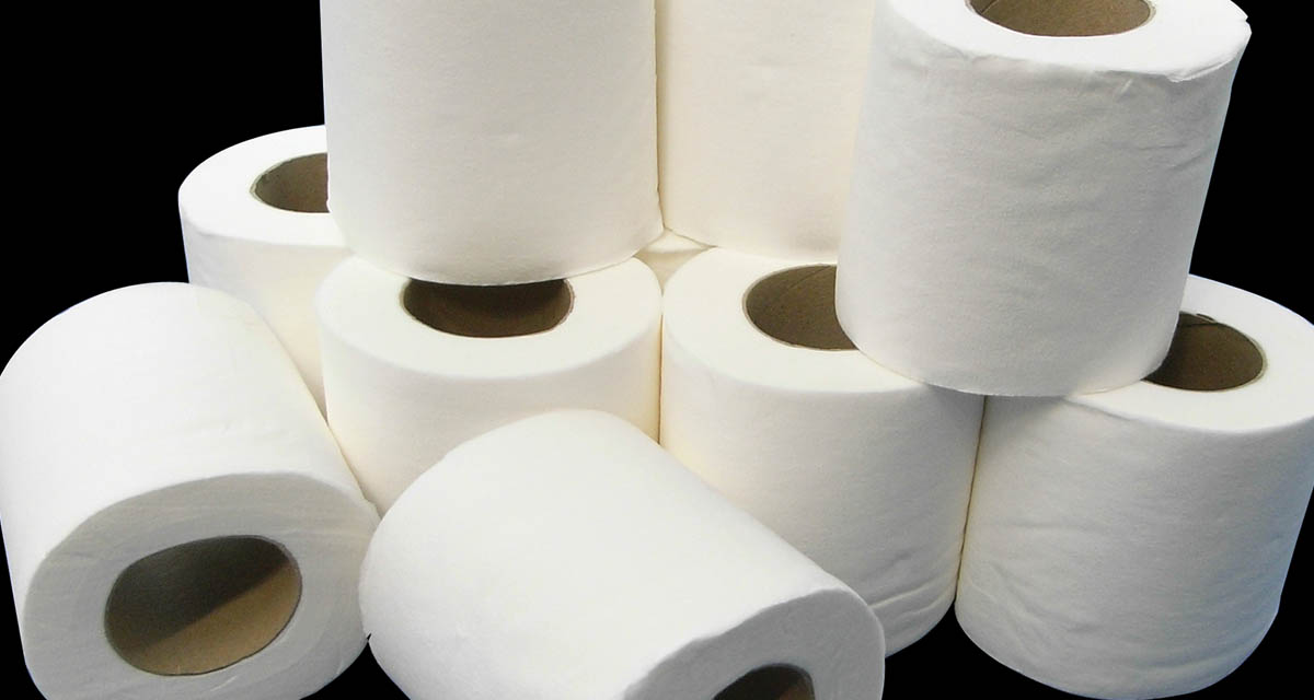 Fondo papel toilette