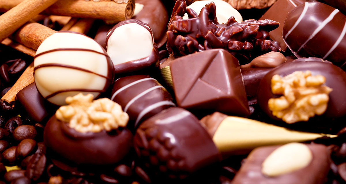 fondo chocolate